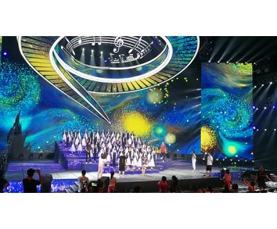 唐山市音协合唱团央视录制