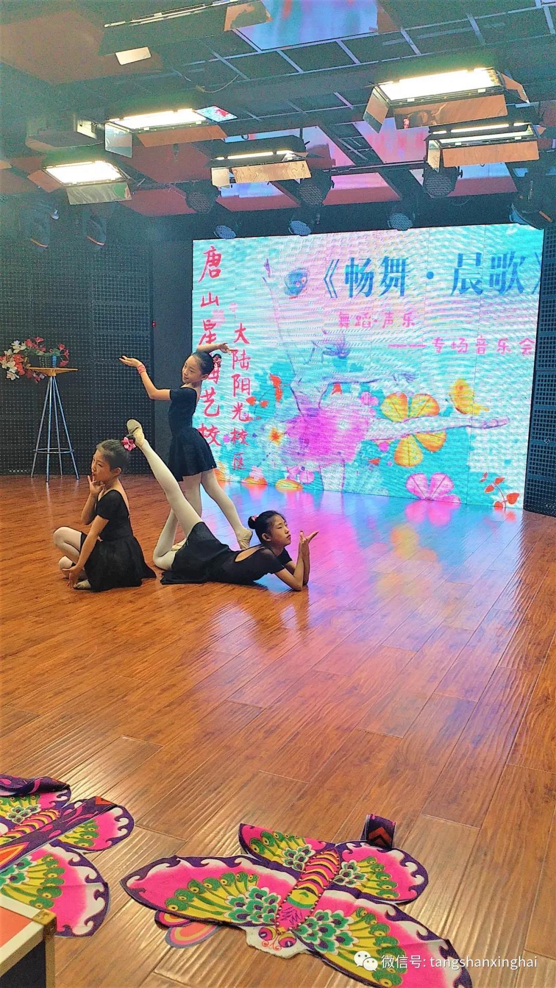畅舞·晨歌——星海艺校大陆阳光校区专场音乐会